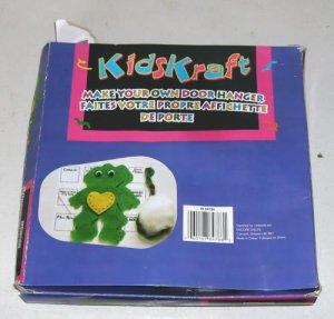 Frog Doorhanger-Fun For Kids To Make & Use, Kids Kraft