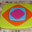 Nice Nesting Mixing Bowl Set,Bright Colors, Set of 4