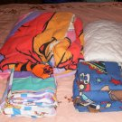 Winnie The Pooh Bedcover w/ Sheets,Twin,+ Sports Sheets