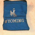 Wyoming Bucking Horse Coin Purse, Keychain or Alone