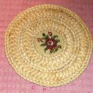 Braided Hot Pad Trivet, Protect Table & Counter, Great For Hot Pots,Serving,Rose