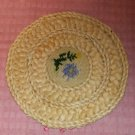 Braided Hot Pad Trivet, Protect Table & Counter, Great For Hot Pots,Serving,Blue