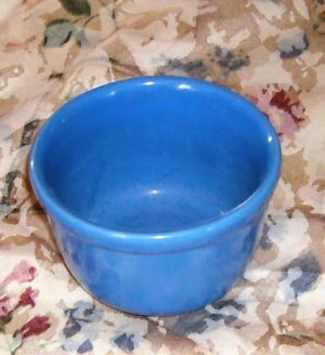 Medium Bright Blue Bowl, Great for Condiments, Made in USA, From Oxford,Small