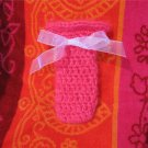 Tech/Cell Sock Cozy Cover Hot Pink Fuzzy
