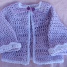 Crochet Layette Set Newborn to 6 mos