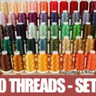 50 CONES OF EMBROIDERY MACHINE THREADS  SET 2