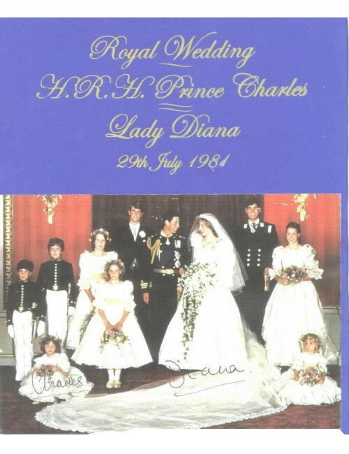 PRINCESS DIANA & CHARLES