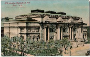 Vintage New York Postcard - Metropolitan Museum of Art, New York City