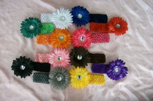 The Ultimate Flower Clip and Headband Gift Set