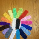 One 1.5 Inch Crochet Headband--Many Colors Available--