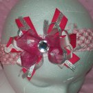 Over the Top Pink Boutique Hair Bow