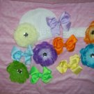 All You Need for SPRING--- Perfect Hair Bow Set---