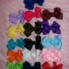 Babys First Bows----U Pick 5 Bows--With Interchangeable White Headband