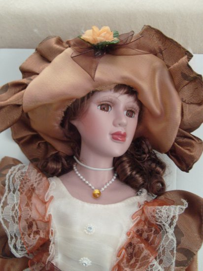 Bisque Porcelain Doll