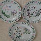 I. Godinger & Co. Botanical Garden Design Plates Set of 3