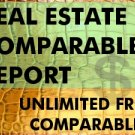 REAL ESTATE COMPARABLE REPORT PULL UNLIMITED FREE COMPS