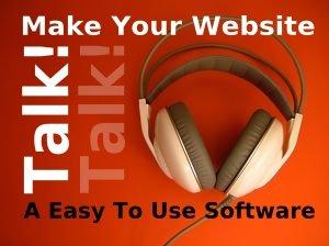 Make Your Website Talk! Plus 6 Bonus Items