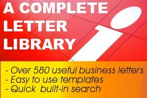 A Complete Letter Library - Over 580 Business Letters & Forms