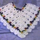 "Girls Crochet Poncho Pattern ""Amanda Lynn"""