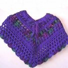 "Baby Poncho Pattern Original Design ""Baby Jewels"""