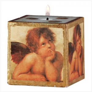 Scented Candle with Cherubim