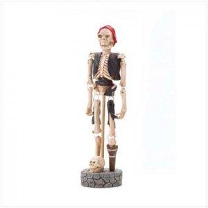 Paper Pulp Skeleton Pirate