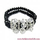 Crystal Glass Bracelet Brack Ornament
