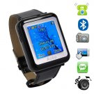 1.3 inch Leather band Triband watch mobile phone AK09