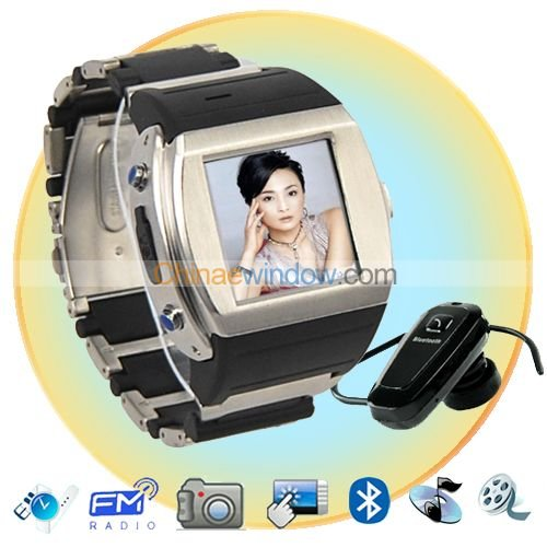 1.5 Inch Camera Watch Cell Phone MQ008