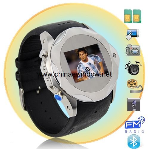 1.3 Inch Touch Screen Quad Band Dual card Video Call Watch Mobile Phone S730