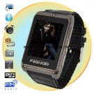 Fashionable Ultra Thin Quadband Watch Cell Phone with Compass and Nylon Wrist Band  S9120