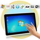 10.1 Inch Multi-Touch Screen Laptop + 3G + WiFi + Bluetooth + Camera + Protection Case
