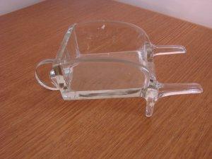 Glass Wheelbarrow - Decorative Piece