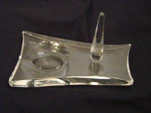 Oleg Cassini Genuine Crystal Ringholder Stephanic New in Box