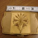 Vintage Goldtone Compact with Mirror Fifth Avenue Van Ace