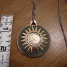 Vintage Rilico Swiss-made Goldtone Watch Pendant Necklace