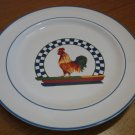 """Rooster 10 1/2""""  Dinner Plate Century Stoneware Remy"""