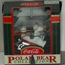 Coca-Cola Brand Ornament Polar Bear Collection 1999 USED