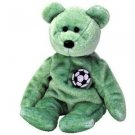Kicks the Soccer Bear Beanie Baby Retired