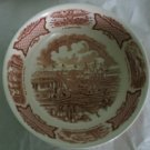 """8"""" Round Vegetable Bowl in Fair Winds-Brown by Meakin, Alfred USED"""