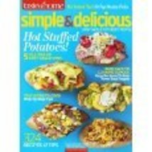 Taste Of Home Simple & Delicious Magazine August September 2012