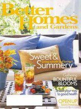 Better Homes And Gardens Magazine June 2004