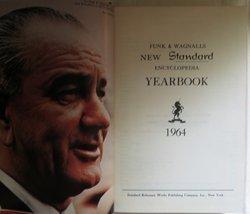 Funk & Wagnalls New Standard Encyclopedia Yearbook 1964 (Hardcover) 1965