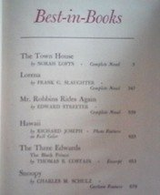 Best-in-Books Readers Digest 1959 Hardcover