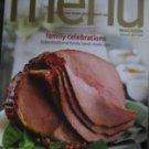 Wegmans Menu Magazine Holiday 2007 NEW