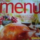 Wegmans Menu Magazine Holiday 2011