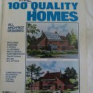 Homes For Living 100 Quality Homes Volume 20 (paperback)