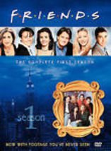 Friends - The Complete First Season (DVD, 2002, 4-Disc Set, Four Disc (never opened)