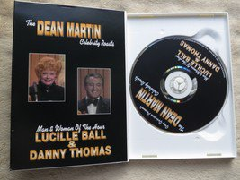 The Dean Martin Celebrity Roasts LUCILLE BALL & DANNY THOMAS DVD USED