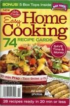 Betty Crocker Easy Home Cooking August September 2009 Number 250